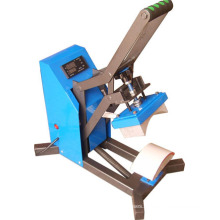 Auto Open Cap Heat Press with Cap Mounting Clamp