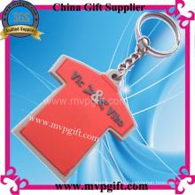 Camiseta Llavero de PVC, Llavero de plástico (m-PK21)