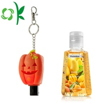 Halloween-serie Silicone Travel Handdesinfecterend Houder Cover