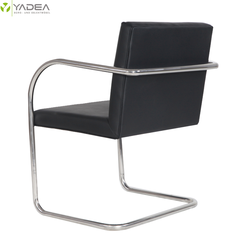 black leather brno chair