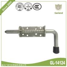 Pestillo de perno de barril con resorte para puerta de remolque para uso general