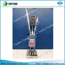 TTF -1L mini three layer glass reactor
