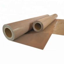 Tissu enduit de PTFE de série industrielle de 0,25mm