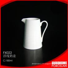 hot sale 2016 guangzhou porcelain ceramic milk creamer