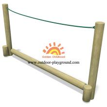 Aire de jeux pour enfants Balance Rope en bois
