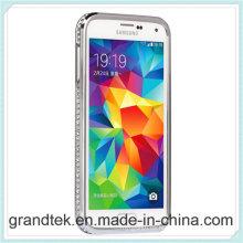 Parachoques de lujo del metal de Dimond para Samsung Galaxy S5 muchos colores