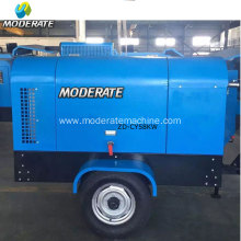 8bar diesel screw air compressor for drilling rig