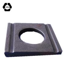 Arruela cônica quadrada Steeel para seção em U DIN434