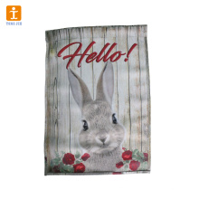 Custom garden flag and banner for advertising and decoration