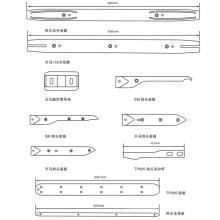 Alpha Opener / Guide Strip / Thema 11e 450mm / Thema Guide Plate