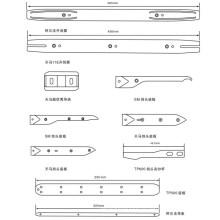 Alpha Opener / Направляющая полоска / Thema 11e 450mm / Направляющая Thema