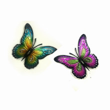 2 Colors Pastel Garden Metal Butterfly Wall Decoration-Large