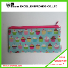 Fashion PVC Plastic Pen Bag with Zipper (EP-P82912)