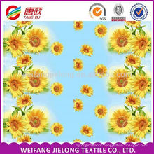 polished cotton fabric for bed sheets bedding sets