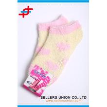 cheap price cozy warm girl's teen ankle socks custom logo