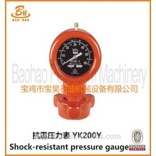 Shock Resistant Pressure Gauge For Mud Pump