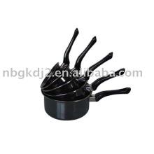 Enamel cookware pan sets
