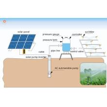 Fonte profissional da fábrica fora do sistema de bombeamento solar da grade
