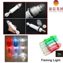Глубоководная рыбалка вспышки света