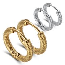 Korean Style Titanium Steel Personality Ear Jewelry Earrings Punk Style Matte Ear Buckle