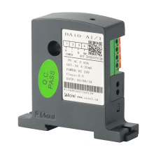 Transdutor de monitoramento de corrente para instalação em trilho Din