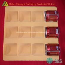 Tiefgezogene Beflockung Kunststoff Getränk Tablett