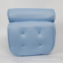 Bath Pillow for Bathtub. Tub Pillow for Women & Men,with 3D Air Mesh Breathable,Helps Support Head, Neck, and Back