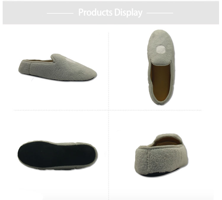 sherpa hotel indoor bedroom shoes slippers