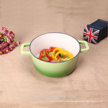 Household Enamelware Cast Iron Stew Pot With Lid
