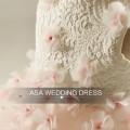 RFGD04 2017 vestidos de fiesta de la muchacha del vestido de la muchacha del flor de Tulle Appliqued los vestidos rosados del desfile de las niñas del cordón
