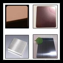 Edelstahl-Farbfolie für Dekorationsmaterialien