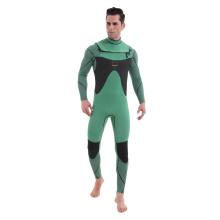 Seaskin mens 3/2 neoprene chest zip surfing wetsuit
