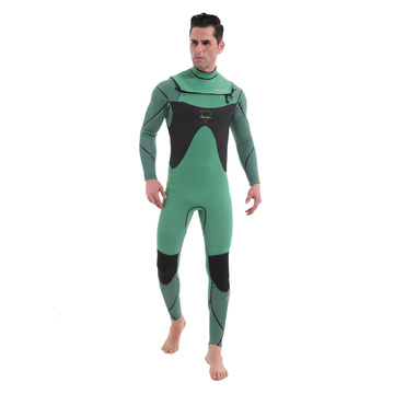 Seaskin mens 3/2 neoprene dada zip surfing wetsuit