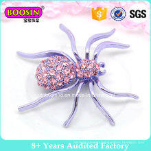 Custom High Quality Large Purple Spider Brooch