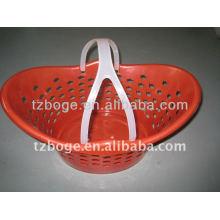 Kunststoffkorb mit Griffform