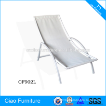 Outdoor Furniture Stackable Aluminium Mesh Lounge Chair