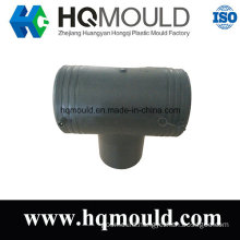 Equal Diameter Tee Pipe Fitting Plastic Injection Mould