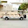 14 seater shuttle bus / electric sightseeing bus for sale