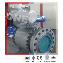 Pneumatic Operated F304 Stainless Steel Ball Valve