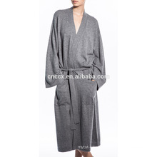 17STC6801 drop shipping wholesale cardigan long cashmere robe