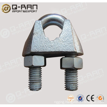 U.S.type malleable galvanized wire rope clips rigging
