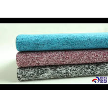 Tissu 100 polyester Hacci brosse arrière pour pull
