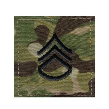 Peringkat Militer Insignia Hook Patches