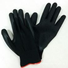 Gants en polyester 13G Gants revêtus de latex Gants de sécurité