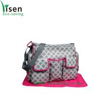 Pañal impermeable bolsa de viaje para bebé con correa para el hombro (YSDB00-053)