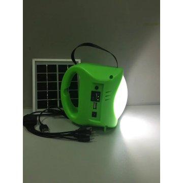 Lámpara portátil solar de mano LED de TUV Factory con 2 años de garantía