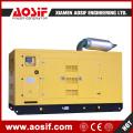 Réservoir de carburant diesel refroidi à l'eau 250kw Genset