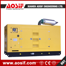250kw Water Cooled Diesel Genset Fuel Tank