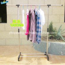 New Protable Extendable Hanging Rods Garment Rack