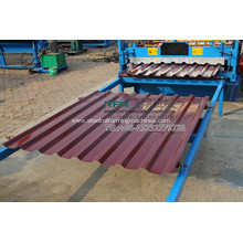 Color Coated Roofinng Roll Forming Machine